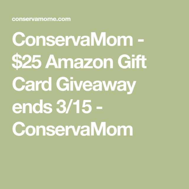 Photo of Enter to win a $25 Amazon Gift card