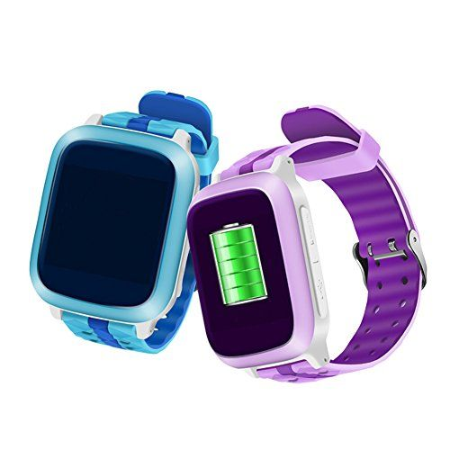 ac8077d3e Auphi Smart Watch for Kids Wearable tracker wrist Phone GPS locator SOS  Call Children Fitness Monitor Watch(blue) Specification  ...