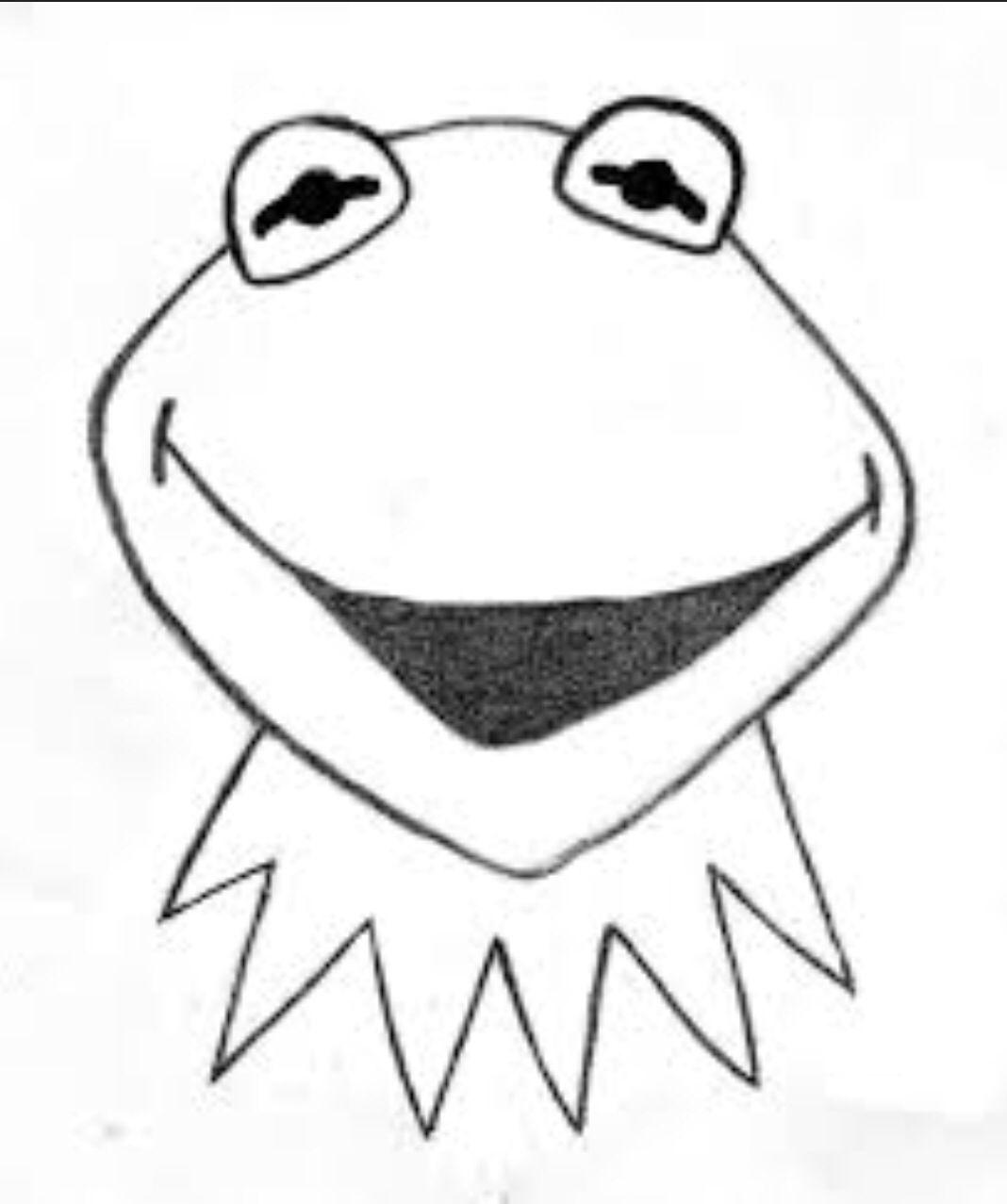 Kermit Easy To Draw Myndmennt Pinterest Easy Drawings Easy