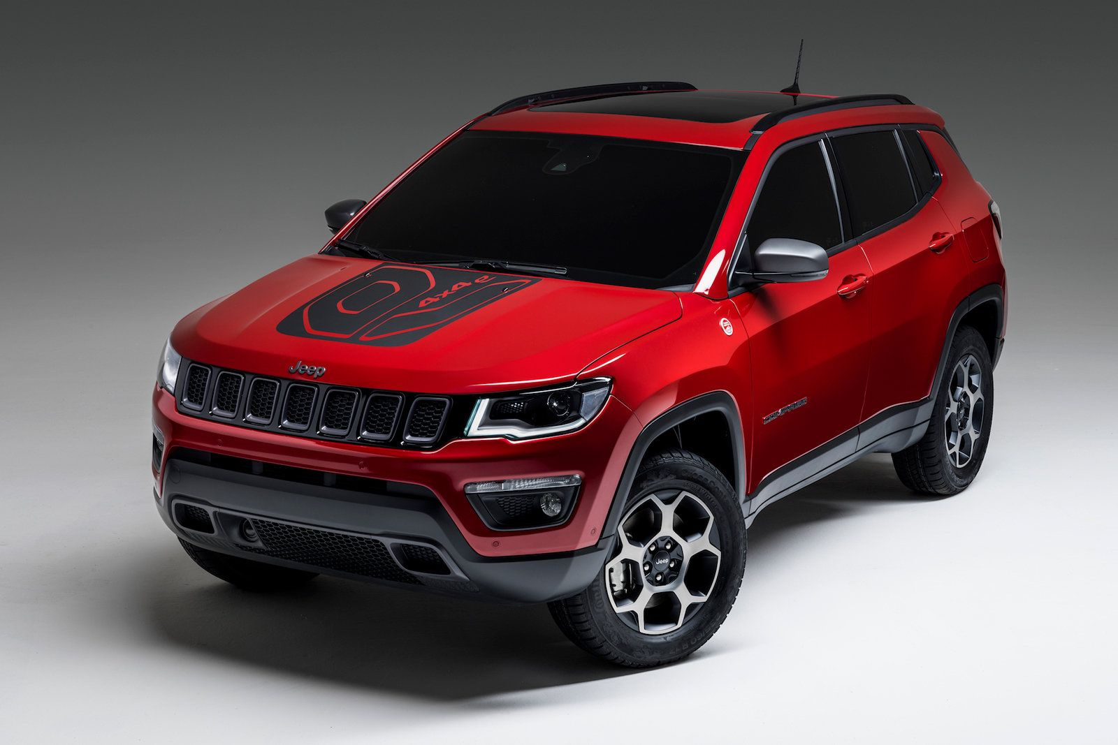 Jeep Preps Plug In Hybrid Versions Of Its Compass And Renegade Suvs