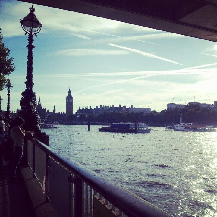 London Southbank - love this shot
