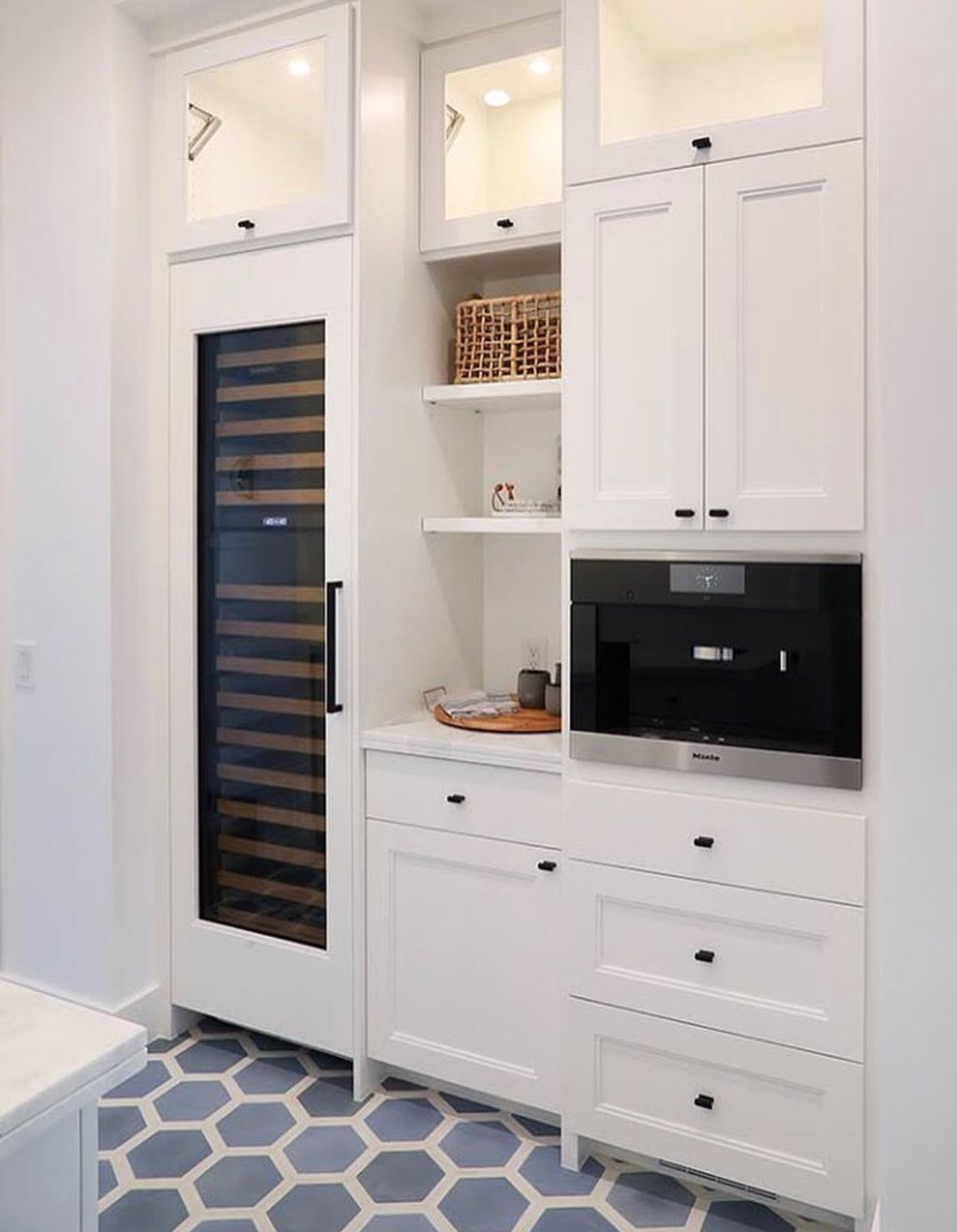 if there s enough space this allows for a narrow pantry cabinet and a small amount of counter on kitchen cabinets pantry id=41839