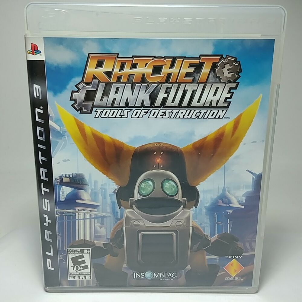 Ratchet Clank Future Tools Of Destruction Ps3 Game 2007 W