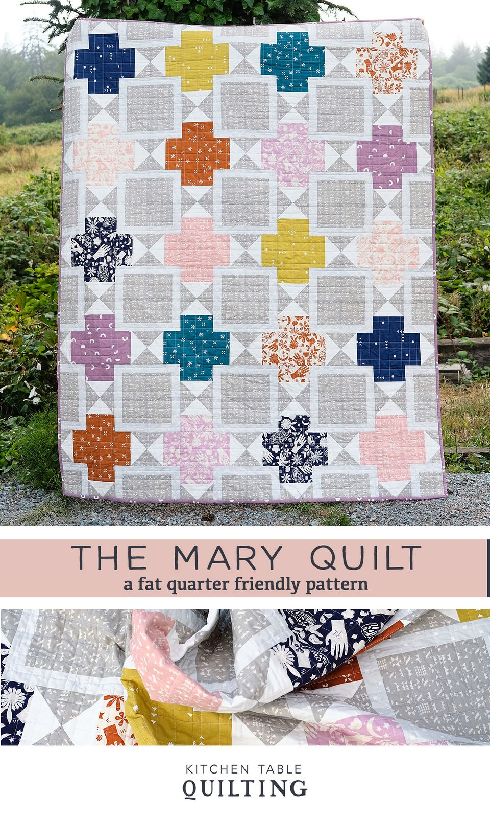 The Mary Quilt - A New Pattern  Quilts, Colorful quilts, Quilt