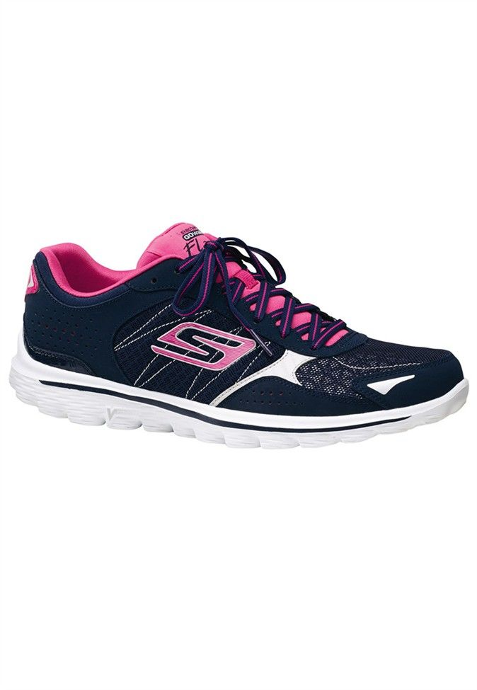 7901c81a2512 Skechers Go Walk 2 Flash Womens Athletics Shoes  49.99 (Reduced)  www.scrubsandbeyond.com