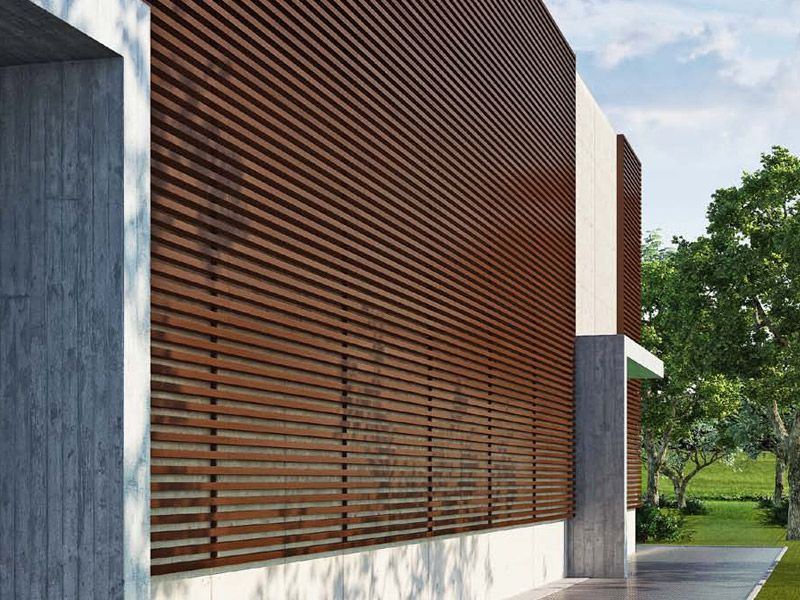 Panel de madera para fachada VERSATILIS by WOODN INDUSTRIES ...