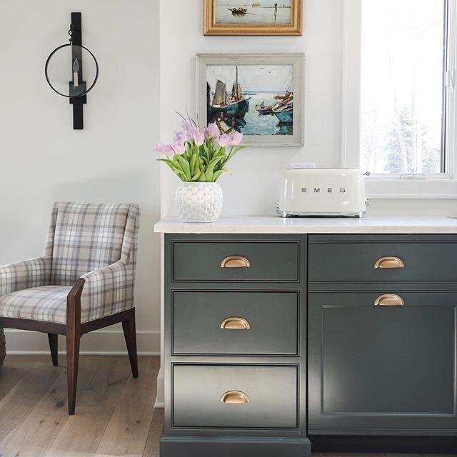 Tartan Builder's kitchen | Kidder | Studio green, Green ...