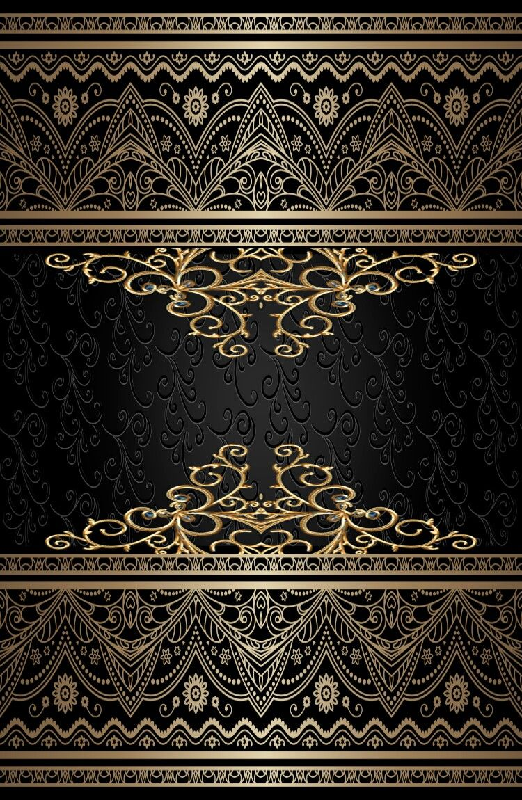 Black And Gold Black And Gold Aesthetic Gold Aesthetic Phone Wallpaper Patterns