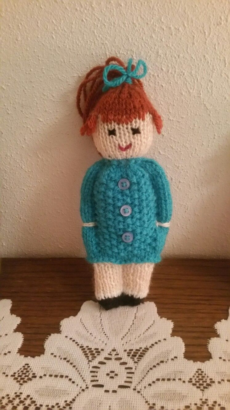 Photo of Komfortpuppe #knitteddollpatterns Komfortpuppe