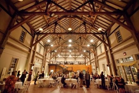 Muhlhauser Barn Indoors Doors Open On Either Side For A Great Breeze In The Spring And Fall