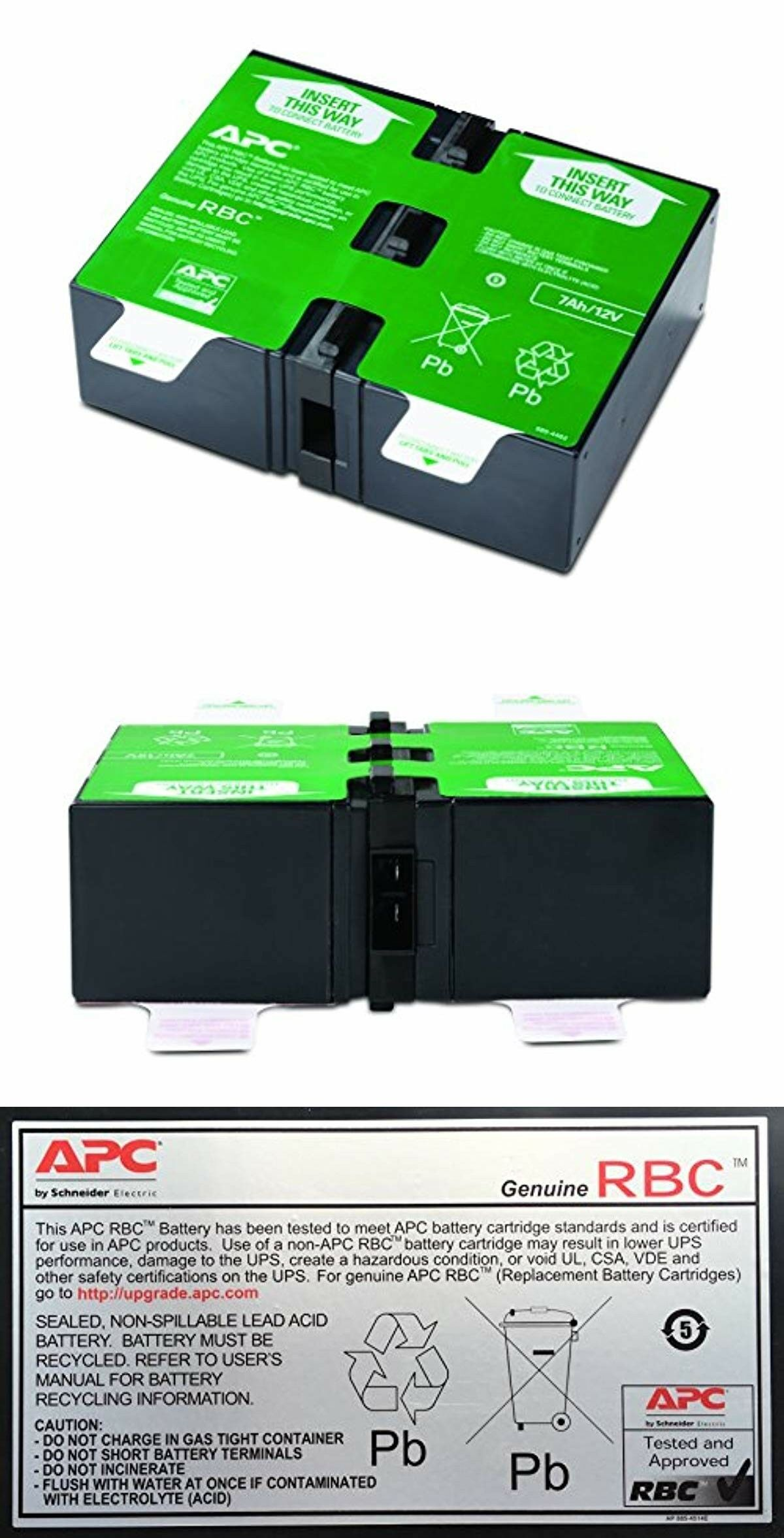 UPS Batteries and Components 48479: Apc Ups Battery