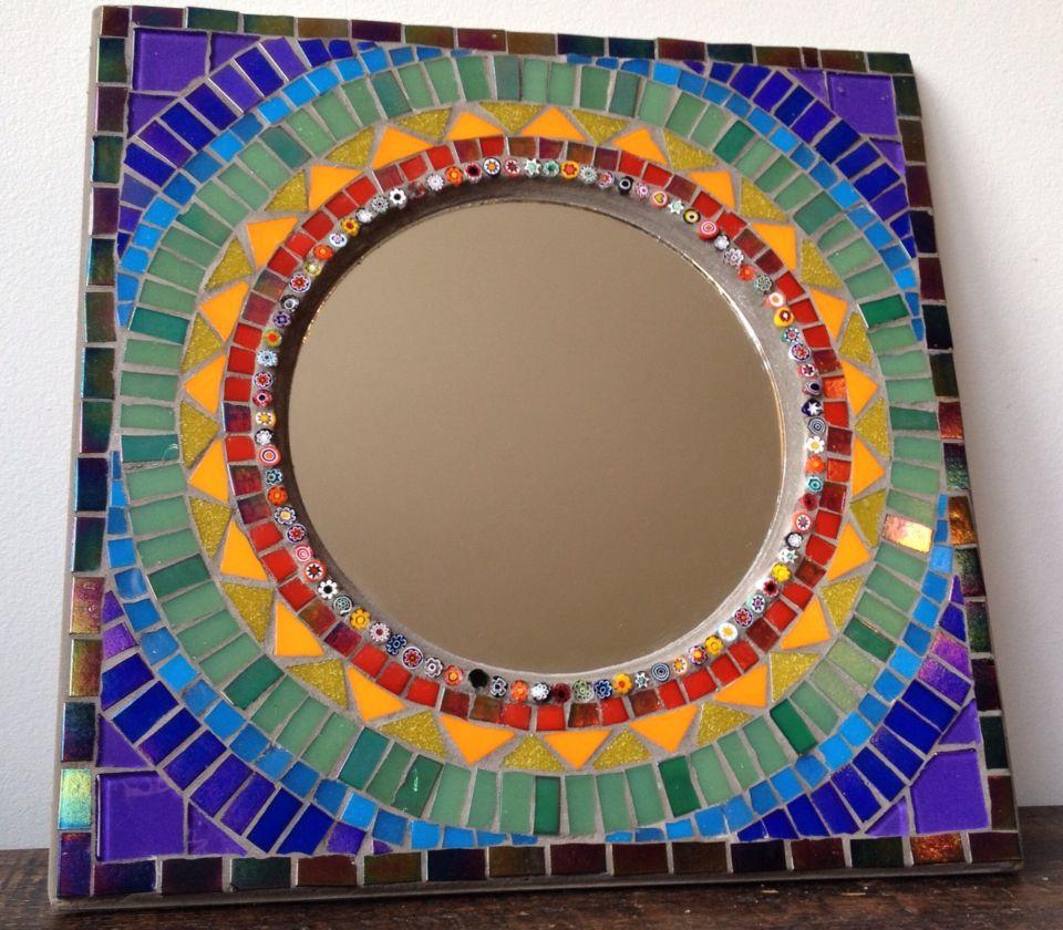 Mirror espelho em mosaico by Schandra