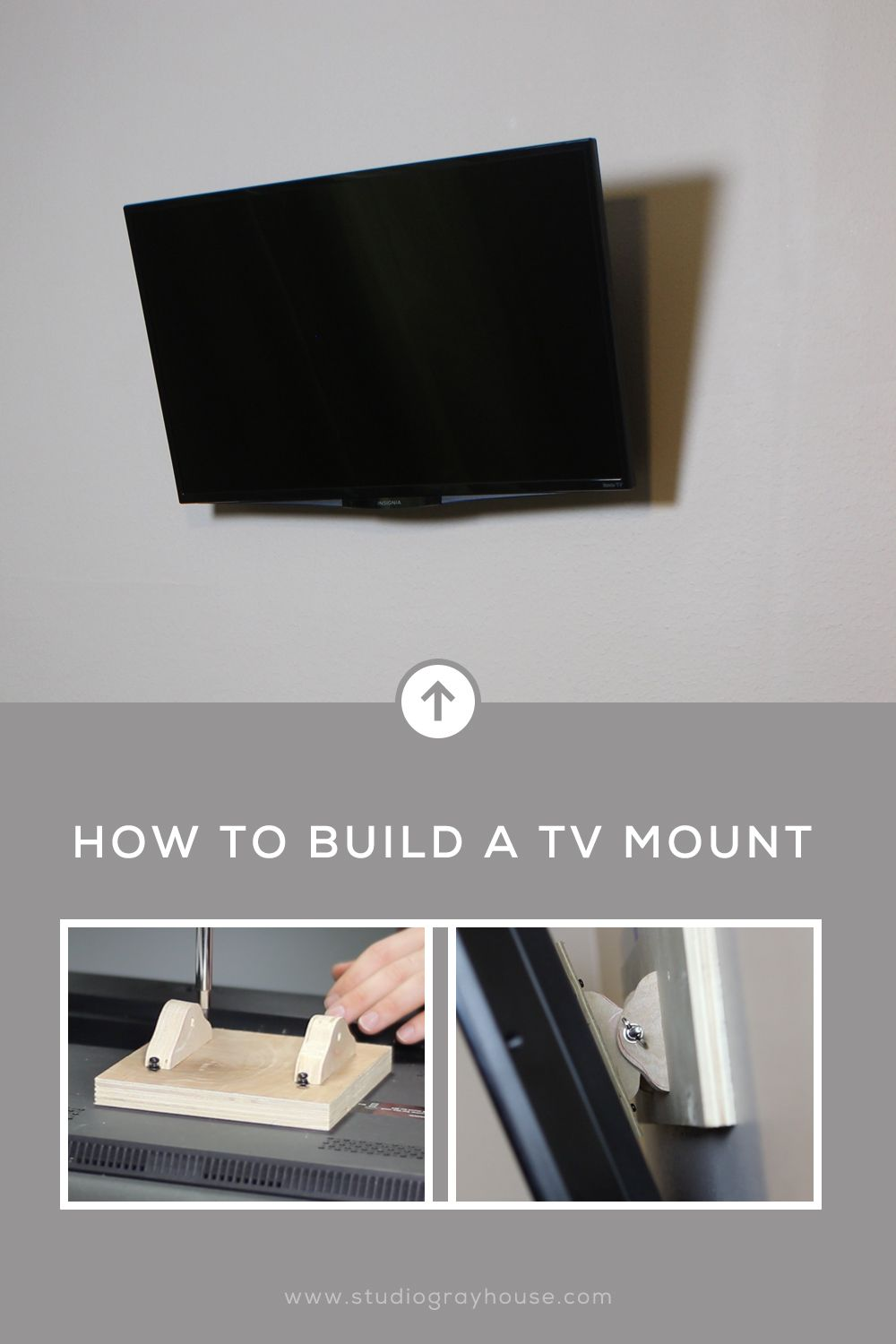 How To Build A Tv Wall Mount Diy Tv Wall Mount Tv Wall Wall