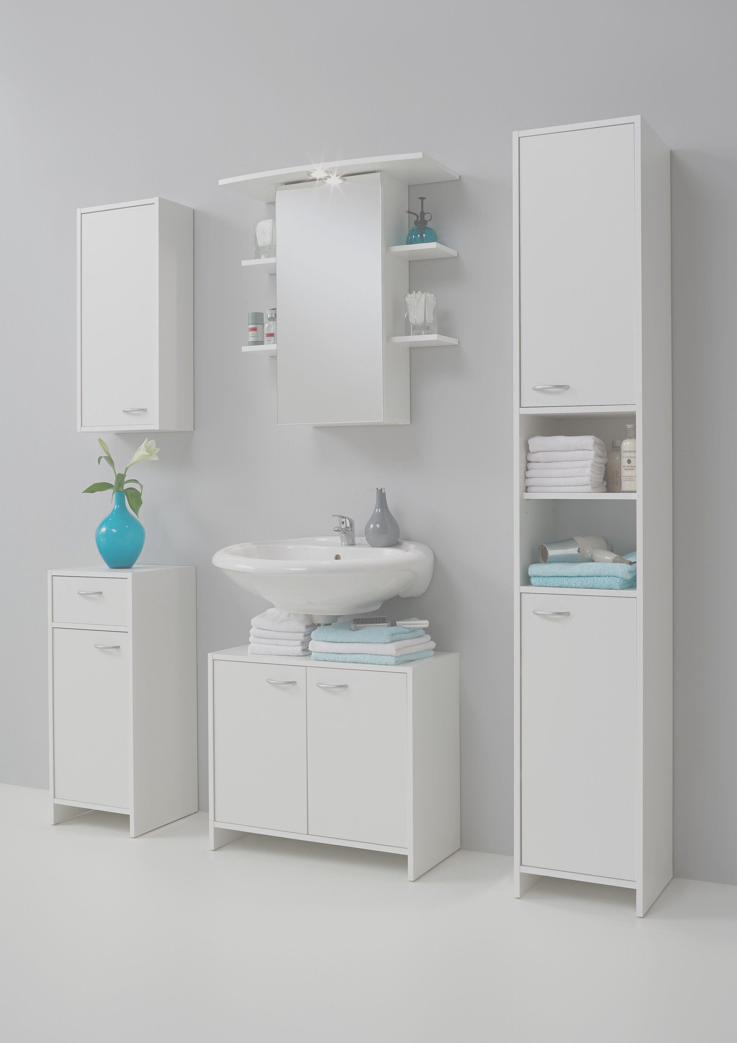 Salle De Bain Ou Acheter ~ armoire de salle de bains madrid 1 porte blanc
