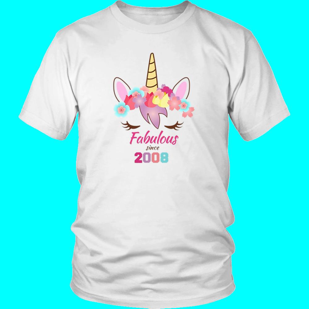 Unicorn Birthday Shirt 9th 10th 2008