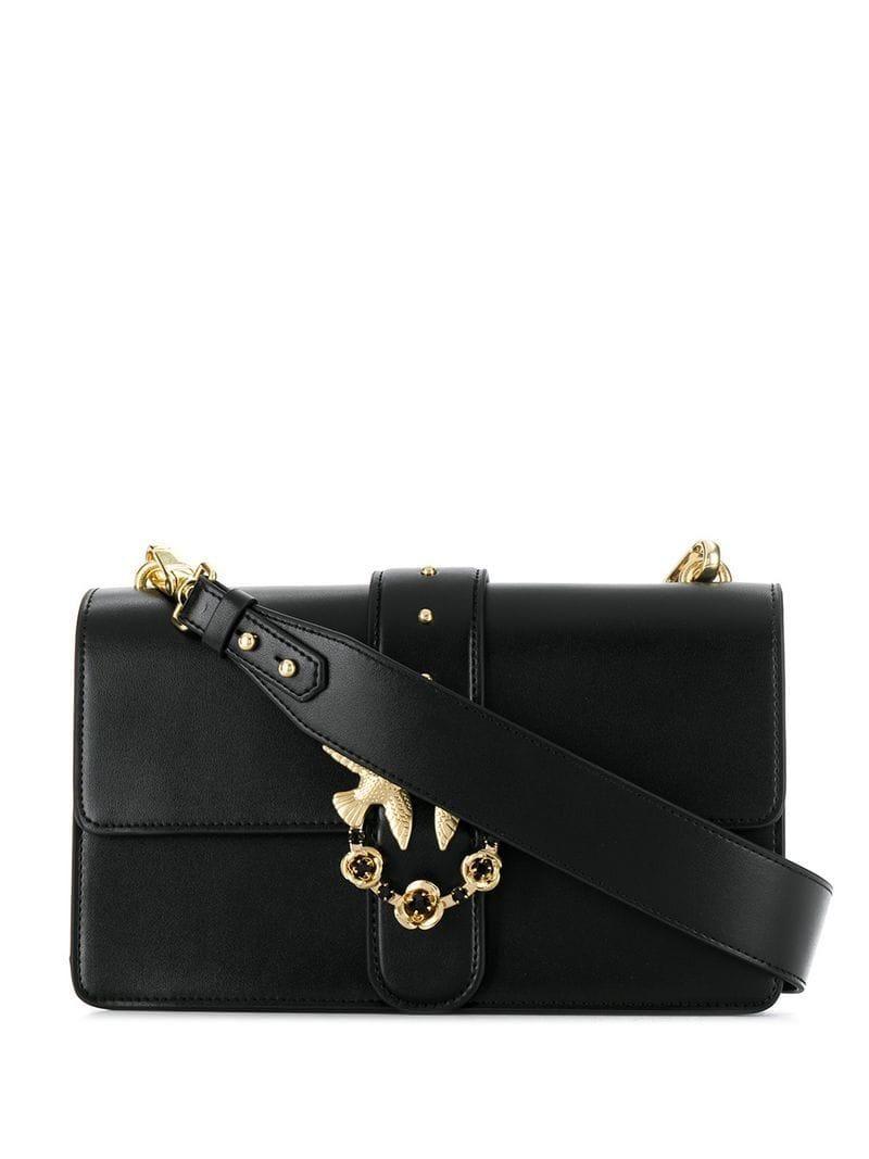 2c4b7011e78 Women's Black Love Simply Jewelled Buckle Bag in 2019 | shoulder ...