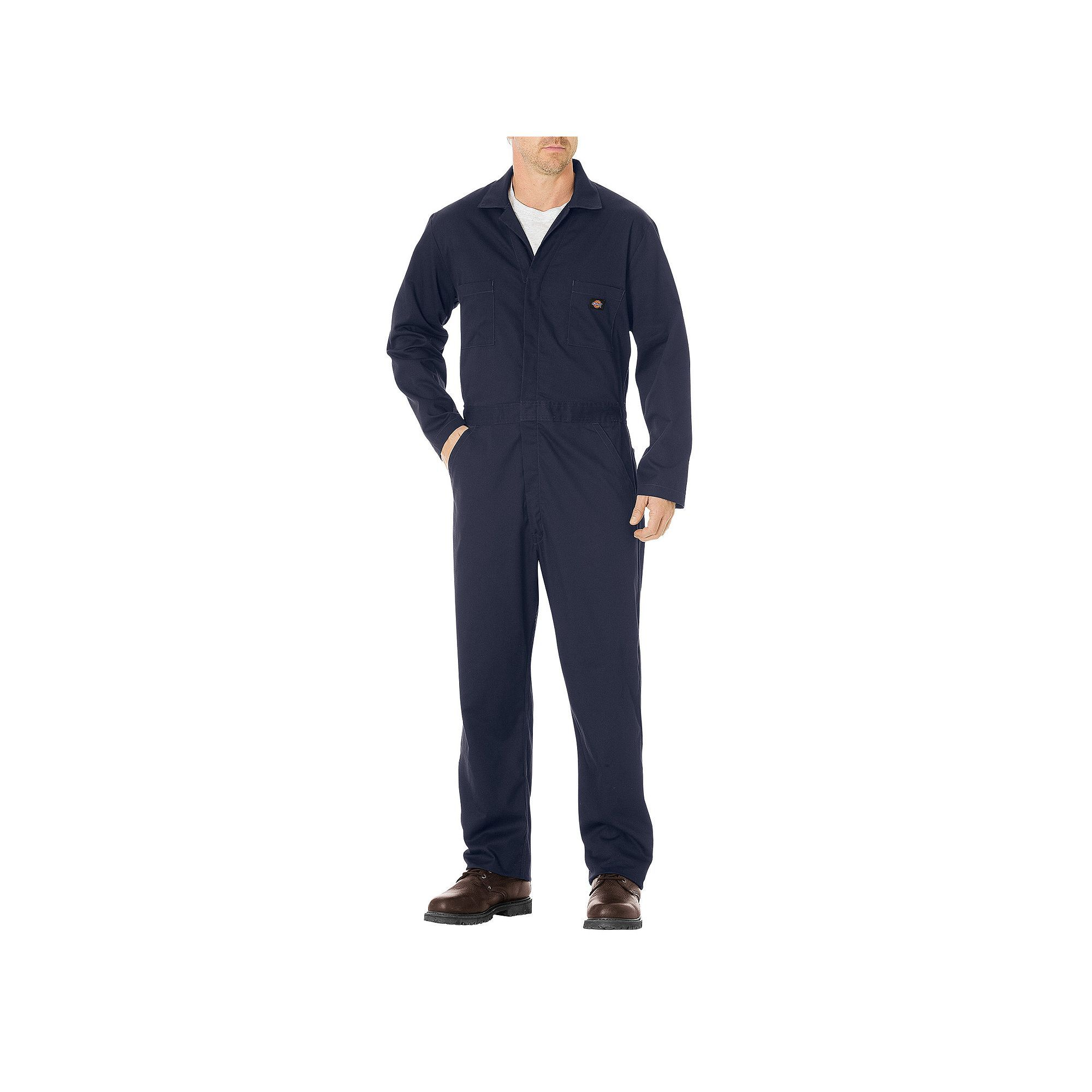 men s dickies twill coverall size x lrge m r dark blue on cheap insulated coveralls for men id=12449