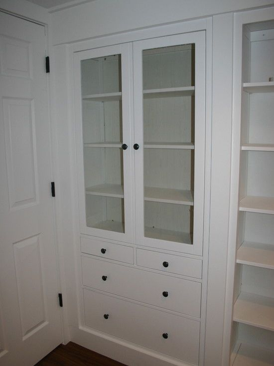 Hard To Believe This Built In Is Made From Ikea Hemnes Two In Dining Room In Between Dining Bench