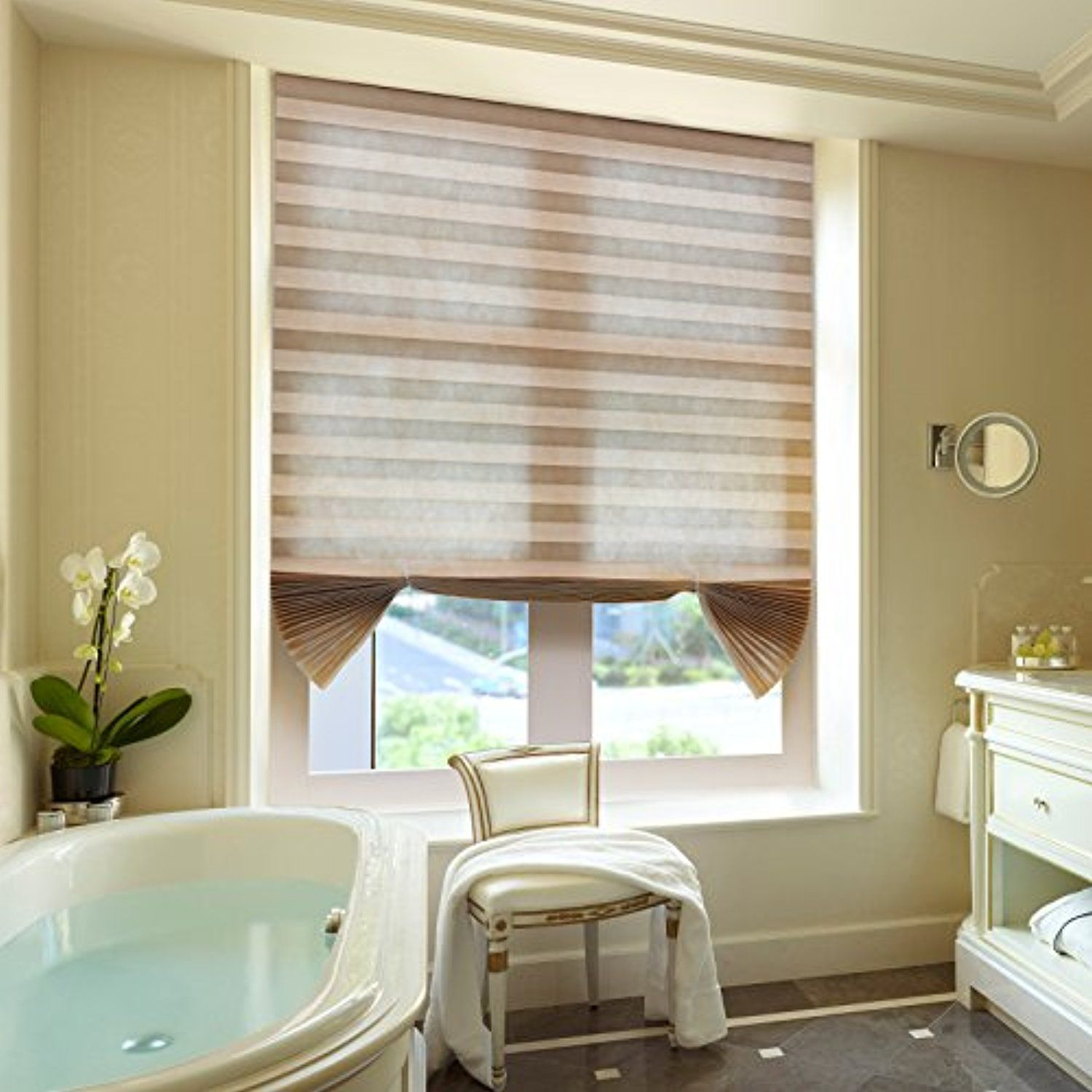 Pleated Shades Cordless for Window Light Filtering Shades