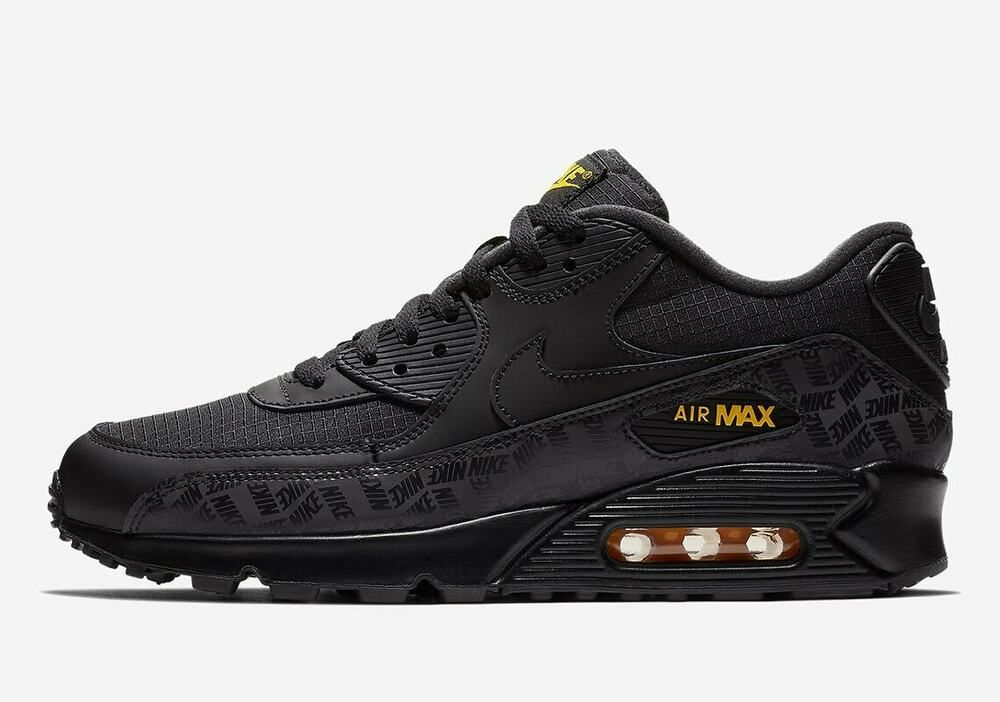 detailed look e35f7 1bd5a Nike Air Max 90 Essential Black Size 9 US Mens Athletic ...