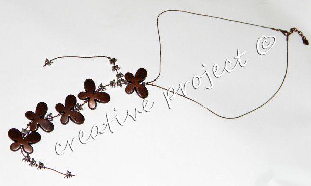collana farfalle