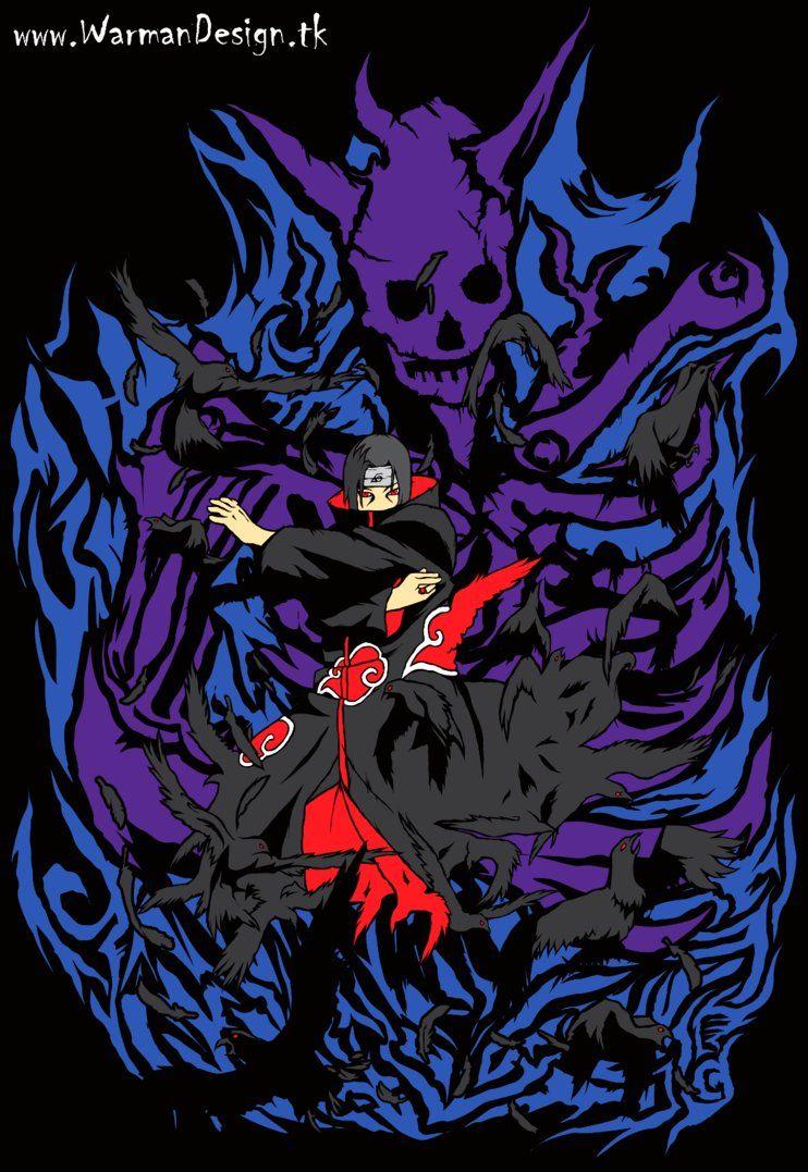 Itachi Susanoo Uchiha Naruto Shippuden Boruto Wallpaper Ninja Japan