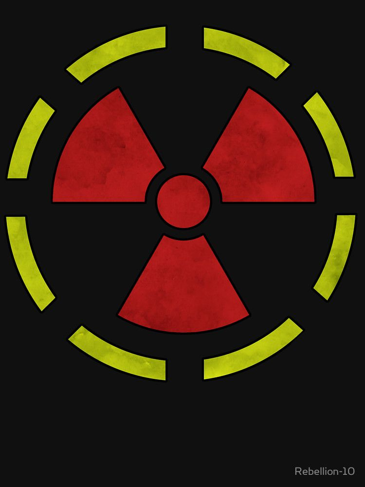 The Hazard Symbol Of Radioactivity If You Like Everything Nuclear