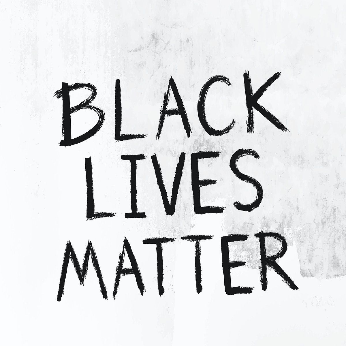 Black Lives Matter On A White Grunge Background Vector Free Image By Rawpixel Com Aum Black Lives Matter Black Lives Lives Matter