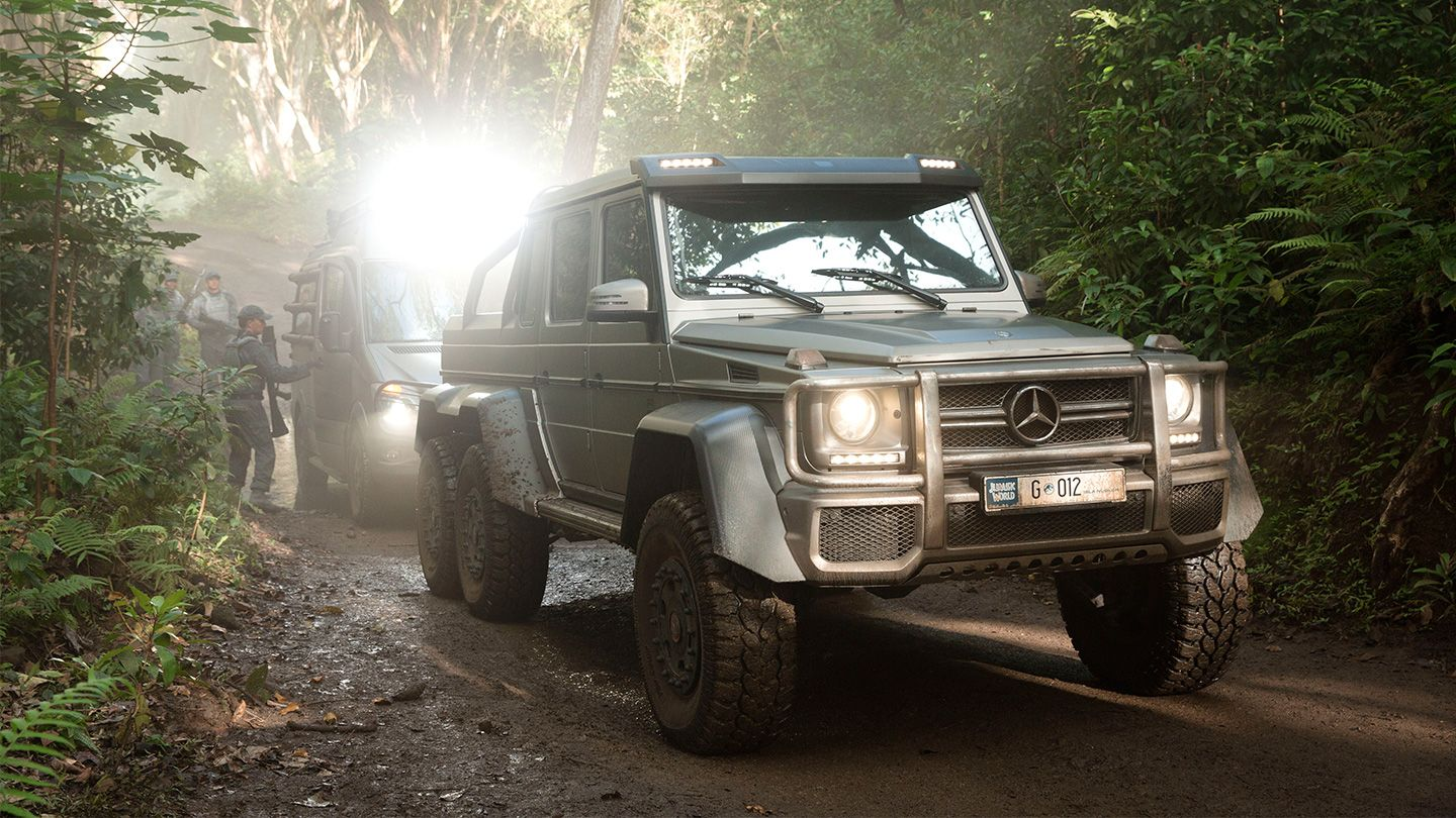 Mercedes Benz Gives Us Our Best Look At Jurassic World S Monstrous