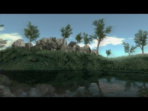 The Island: un Open World Survival Game avec Blender Game Engine   Passionné de jeux vidéo et de programmation