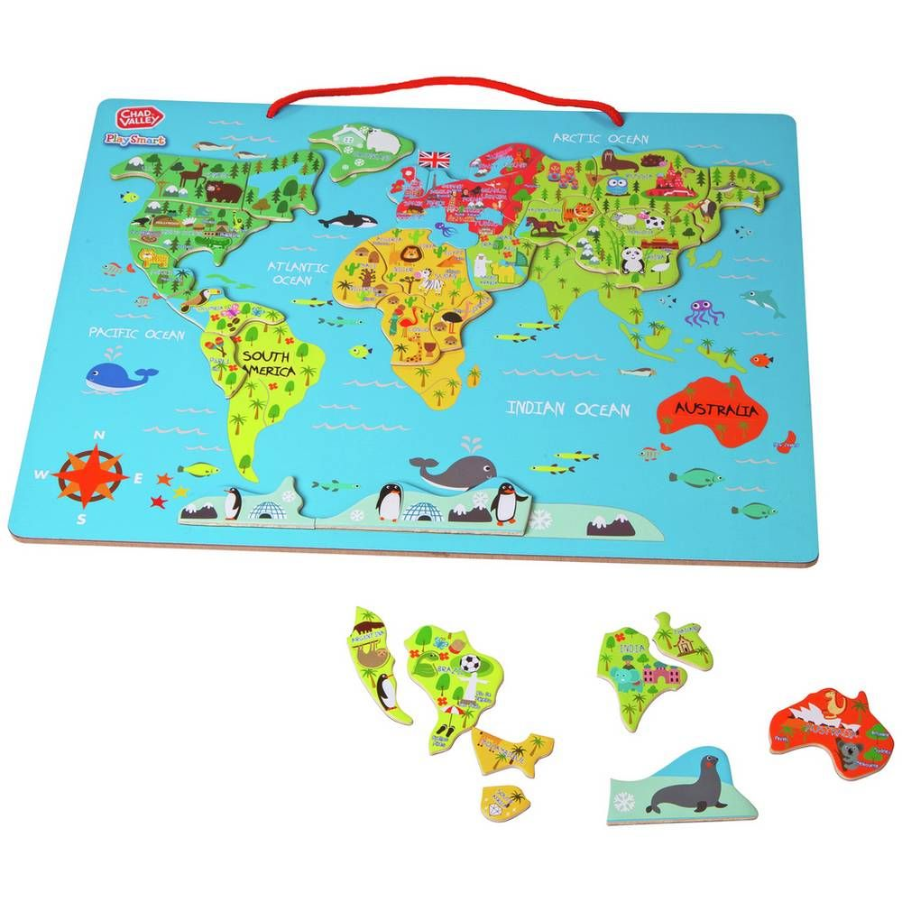 Buy Chad Valley PlaySmart World Map 2 for 15
