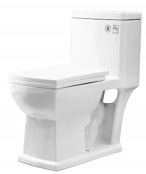 Mecor Elongated One Piece Toilet Toilet Flush Toilet Low Flow Toilet