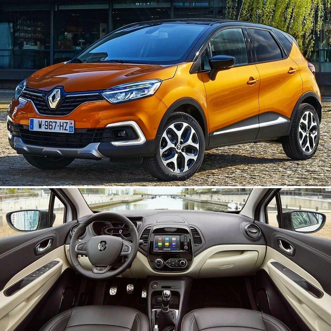 Renault Captur 2018 Marca Lanca Modelo Levemente Reestilizado No Mercado Europeu O Suv Ganhou Novo Conjunto Optico E Para Choque Dianteiro Agora Car Suv Cars