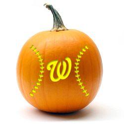 washington nationals pumpkin template  Nationals Pumpkin stencils in 7 | Pumpkin stencil ...