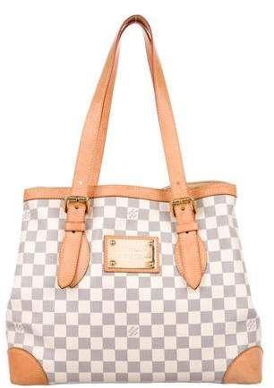 3d68bf2c893e Louis Vuitton Damier Azur Hampstead MM affiliatelink