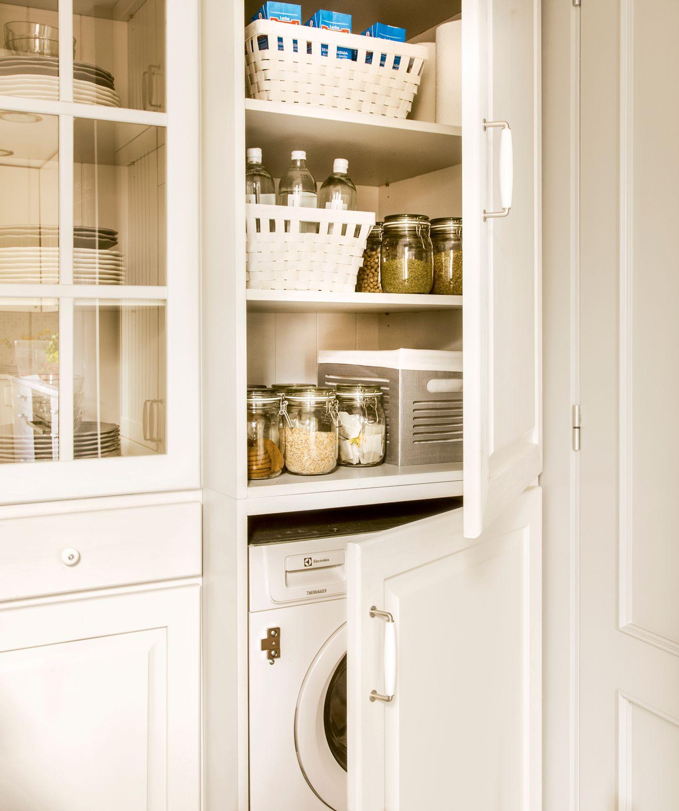 10 Haz La Prueba Del Algodon Armario Para Lavadora Cocinas Y