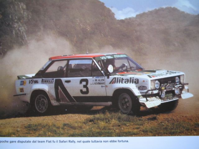 Fiat Abarth 131 En Competicion In 2020 Rally Car Fiat Cars