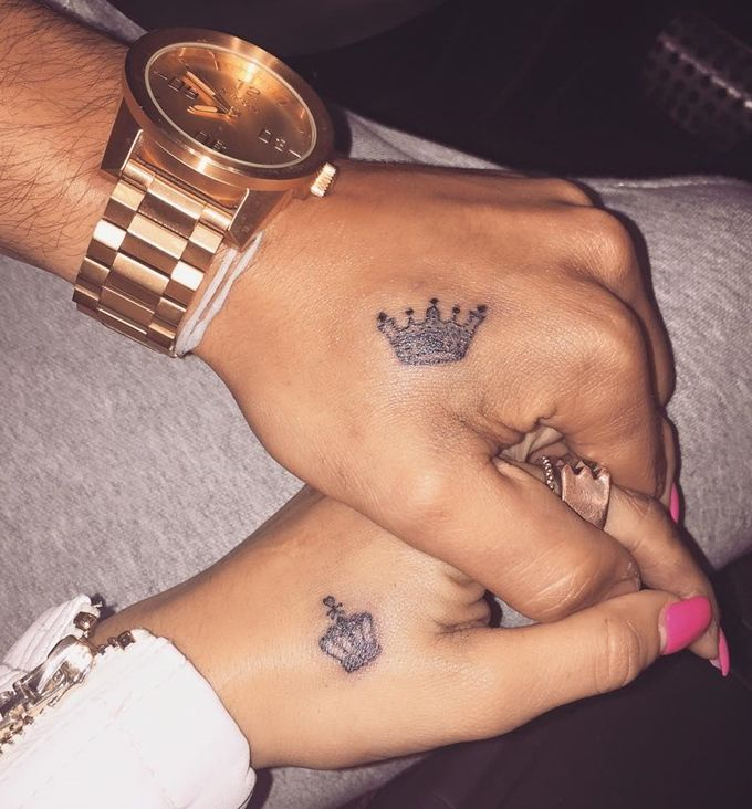 40 Best King Queen Tattoos for Couples in Love