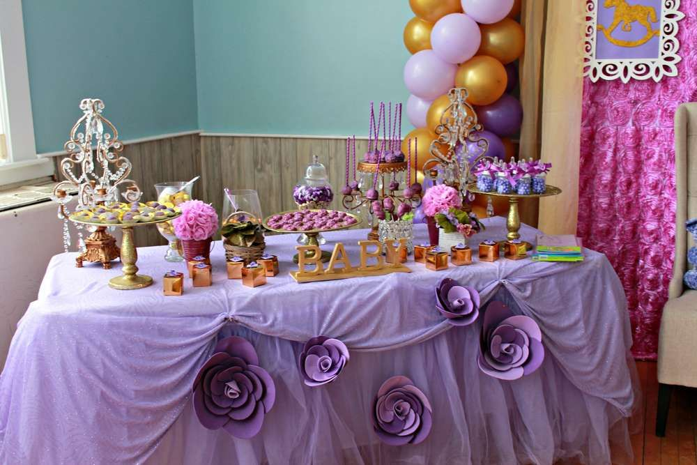 Purple Baby Shower Party Ideas Baby Shower Purple Baby Shower Candy Table Lavender Baby Showers