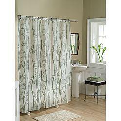 Essential Home Shower Curtain Bamboo Vinyl PEVA 1 Reviews
