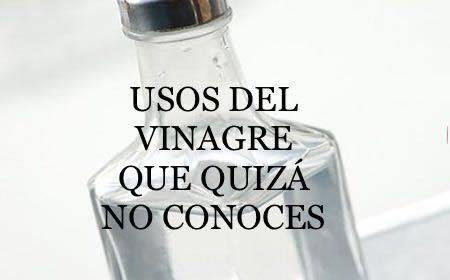 Bueno Ya Sabemos Todos Los Beneficios Del Vinagre Blanco O De