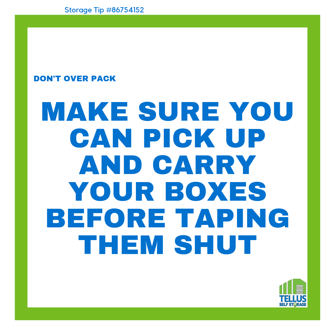 Storage Tips Can Be Found On Our Website Or Any Of Our Social Media Accounts Self Storage Self Storage Units Climate Controlled Storage Units