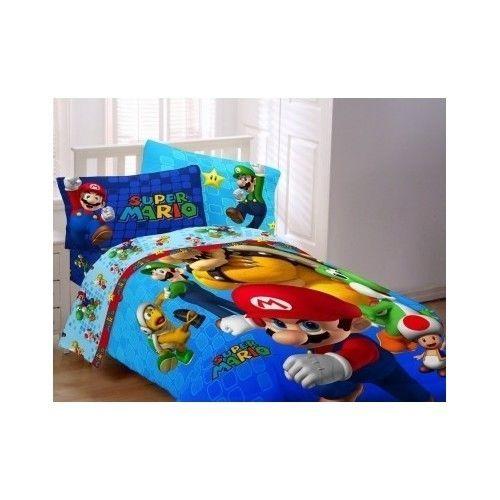 Super Mario Bros Comforter Brothers, Super Mario Bros Full Size Bedding