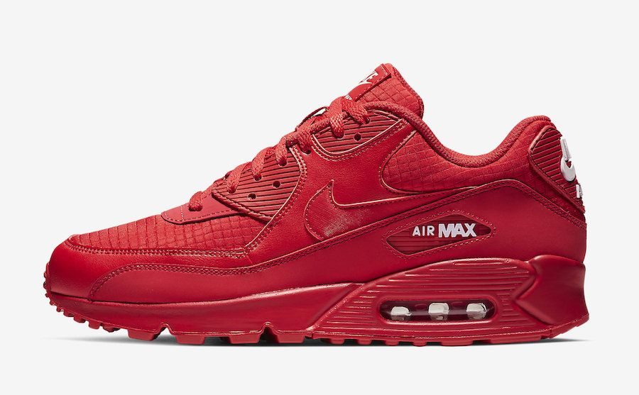 Nike Air Max 90 Essential University Red AJ1285 602 Release