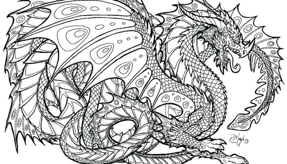 14 Dragon Coloring Pages Dragon Coloring Page Detailed Coloring Pages Unicorn Coloring Pages