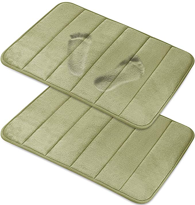 Amazonsmile Magnificent 17 X 24 Inch Memory Foam Bath Mat Soft