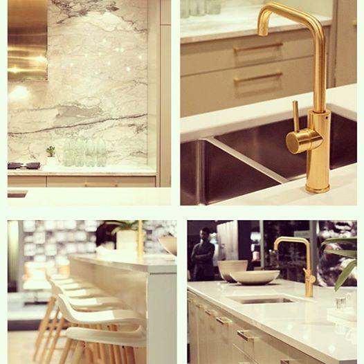 aquabrass masterchef kitchen faucet in custom brushed gold finish aquabrass gold. Black Bedroom Furniture Sets. Home Design Ideas