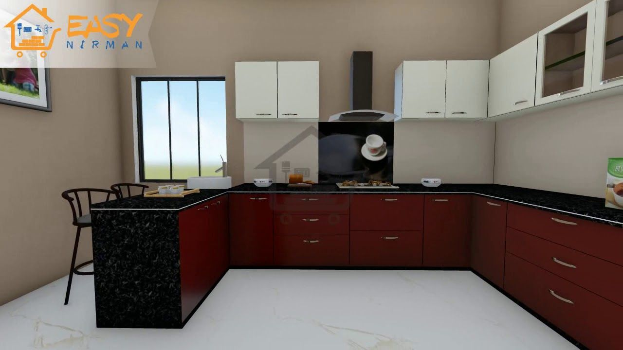 Latest Design View Of Modular Kitchen For Our Client ...
