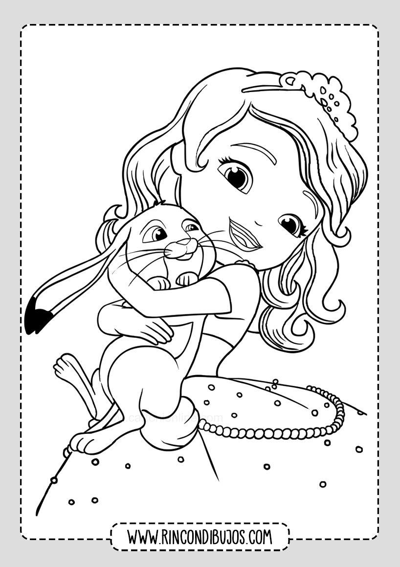Dibujos Bonitos Princesa Sofia Colorear Rincon Dibujos Princesa Sofia Princesas Colorear Princesas