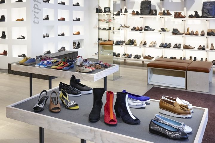 The Natural Shoe Store By Dreambox Studio London UK Retail Best Retail Shoe Display Stands Uk